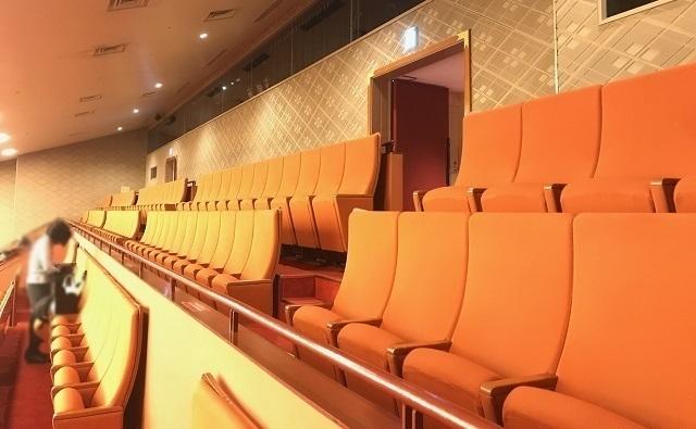 歌舞伎座4階席(一幕見席)