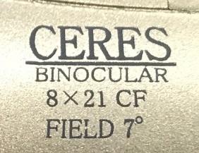 Kenko 双眼鏡 セレス 8X21 CF-S 8倍 21口径