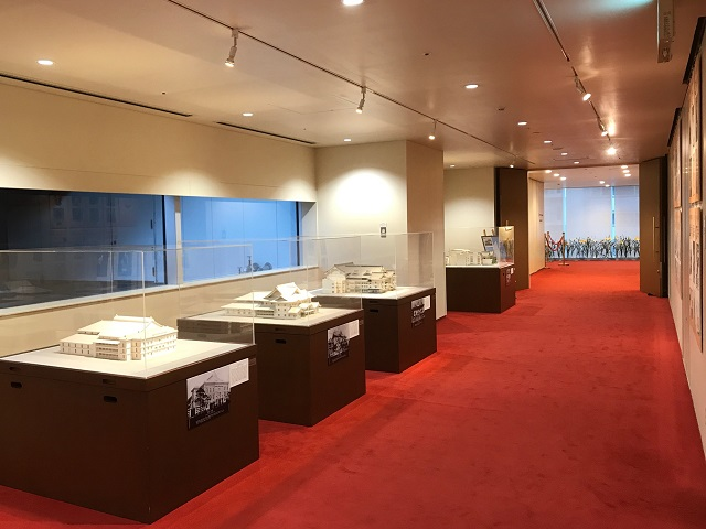 歌舞伎座タワー4階 歌舞伎座の模型