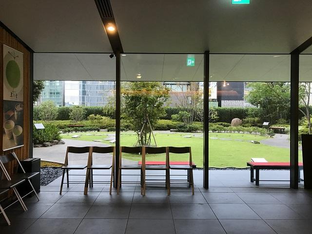 歌舞伎座タワー5階 屋上庭園